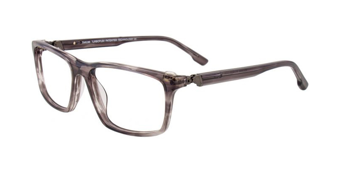 Light Grey Crystal Turboflex TK1053 Eyeglasses.