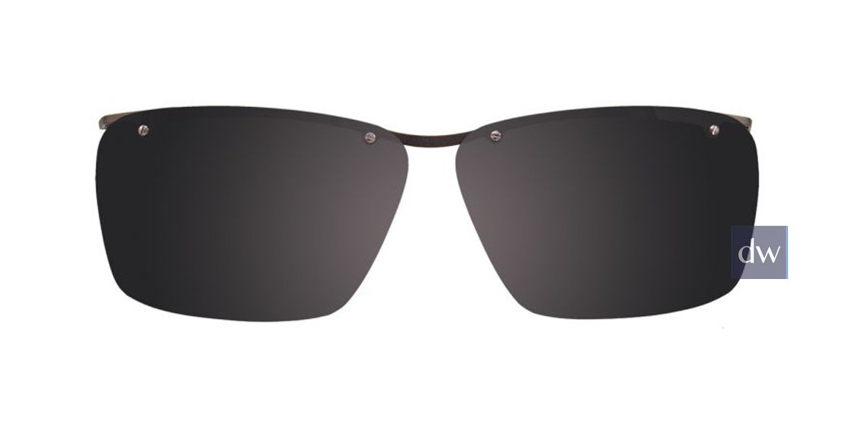 Light Grey Crystal Turboflex TK1053 Sunglasses.
