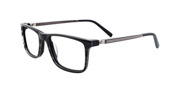 Grey Marbled/Black Turboflex TK1026 Eyeglasses.