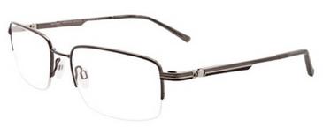 Easytwist eyeglass frame with polarized clip-on model CT-214