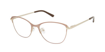 Sand Gold Superflex Titan SF-1126T Eyeglasses.