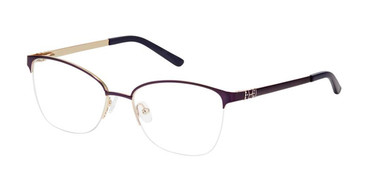 Purple Gold SuperFlex Titan SF-1124T Eyeglasses.