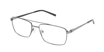 Gunmetal Black SuperFlex Titan SF-1121T Eyeglasses.