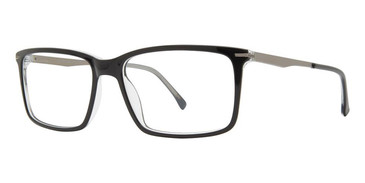 Black/Crystal Vivid Big And Tall 19 Eyeglasses.