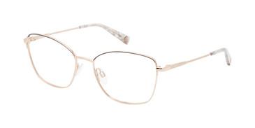 Rose Gold/Grey Brendel 922067 Eyeglasses.