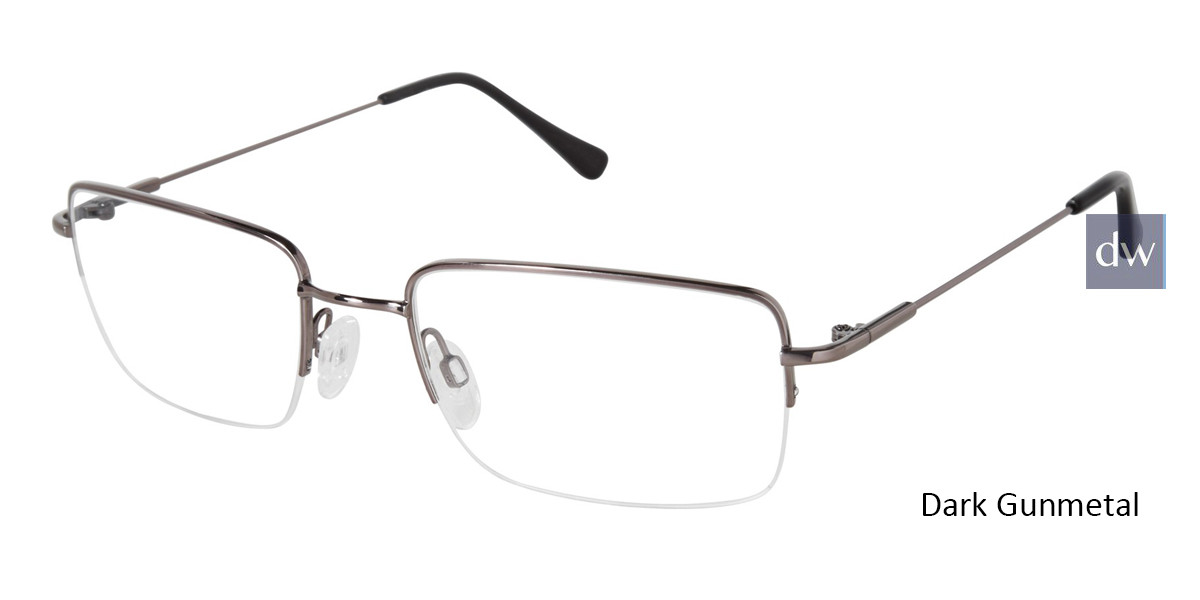 Dark Gunmetal TitanFlex M991 Eyeglasses