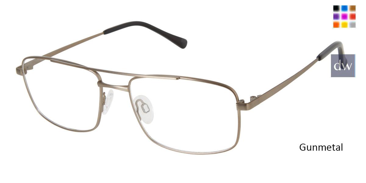 Gunmetal TitanFlex M990 Eyeglasses