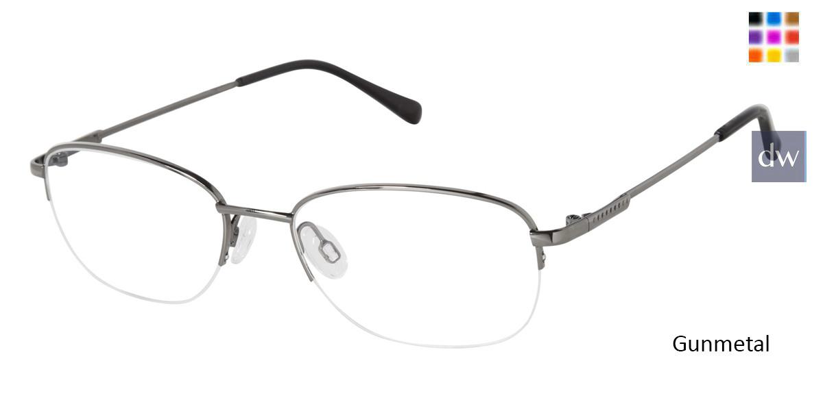Gunmetal TitanFlex M988 Eyeglasses