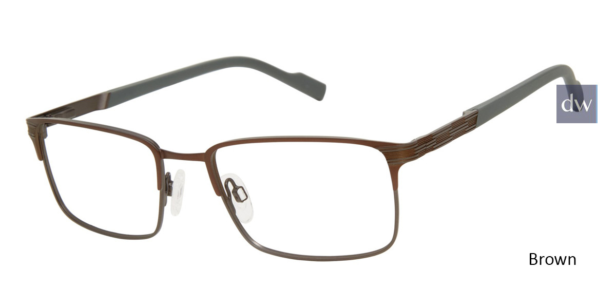 Brown TitanFlex 827046 Eyeglasses