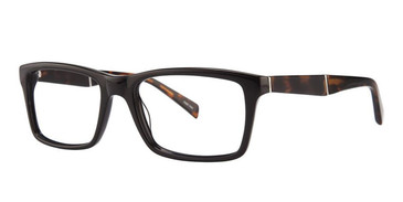 Black/Demi Vivid Boutique 4030 Eyeglasses