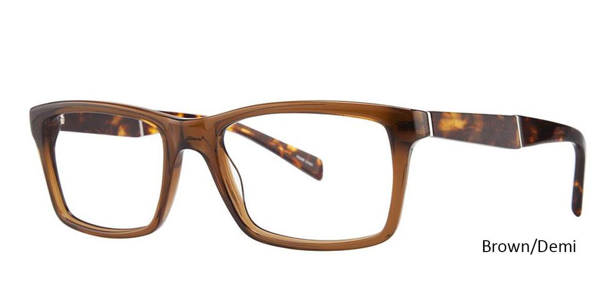 Brown/Demi Vivid Eyeglasses Vivid Boutique 4030.