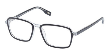 Black/Crystal Evatik 9209 Eyeglasses.