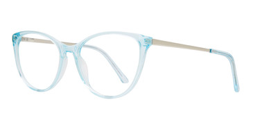Blue Silver Brooklyn Heights Annette Eyeglasses