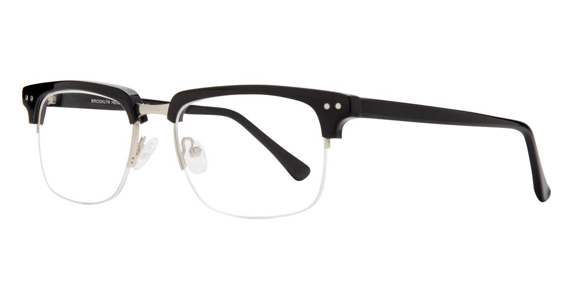 Black Brooklyn Heights Slope Eyeglasses