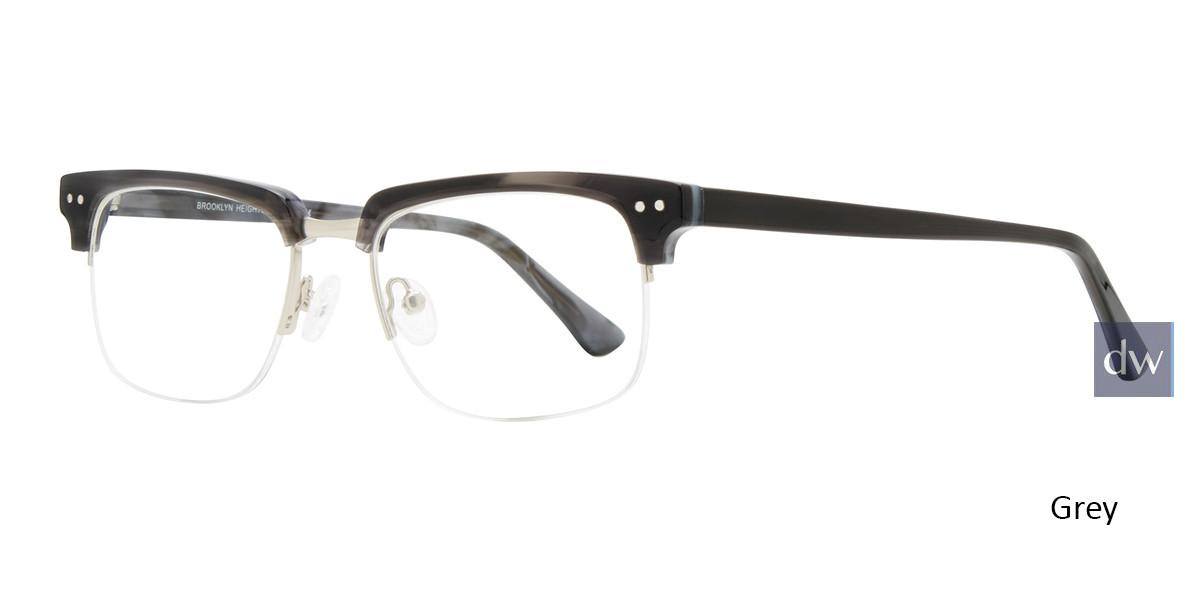 Grey Brooklyn Heights Slope Eyeglasses