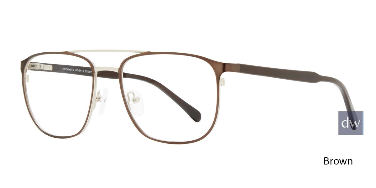Brown Brooklyn Heights Stillwell Eyeglasses