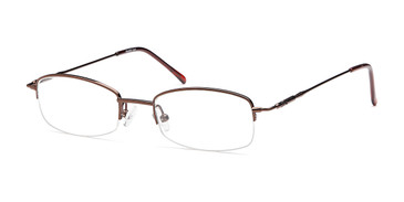 Coffee Capri Versailles Palace Fraser Eyeglasses - Teenager