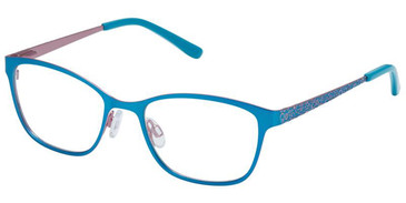 Turquoise Rose Superflex Kids SFK-228 Eyeglasses