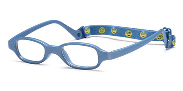 Blue Capri Trendy TF1 Eyeglasses.