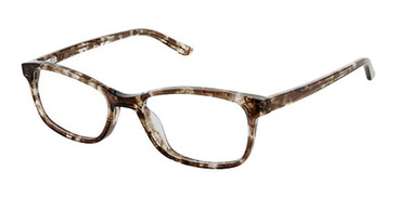 Brown Confetti Superflex Kids SFK-222 Eyeglasses