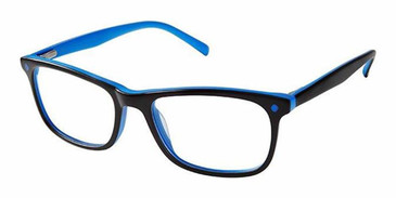 Black Blue Superflex Kids SFK-221 Eyeglasses