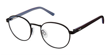 Black Red Blue Superflex Kids SFK-218 Eyeglasses