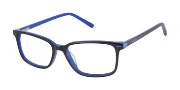 Black Geoffrey Beene Boys G912 Eyeglasses - Teenager.
