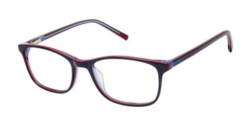Navy Geoffrey Beene Boys G913 Eyeglasses - Teenager.