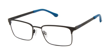 Black Geoffrey Beene Boys G914 Eyeglasses - Teenager.