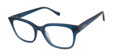 Teal Tura By Lara Spencer LS127 Eyeglasses.