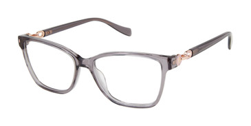 Grey Tura By Lara Spencer LS128 Eyeglasses.