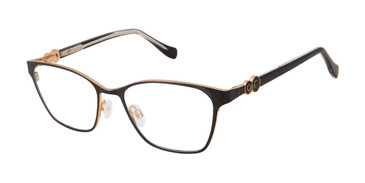 Black Tura By Lara Spencer LS129 Eyeglasses.