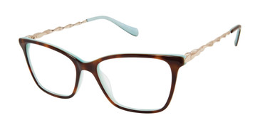 Tortoise Tura By Lara Spencer LS130 Eyeglasses.