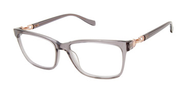 Grey Tura By Lara Spencer Specialty Size LS301 Eyeglasses.