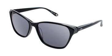 Black Lulu Guinness L111 Sunglasses.