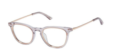Blush Rose Gold Kliik Denmark 677 Eyeglasses - Teenager.