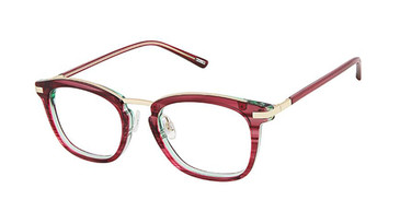 Berry Emerald Gold Kliik Denmark 667 Eyeglasses - Teenager.