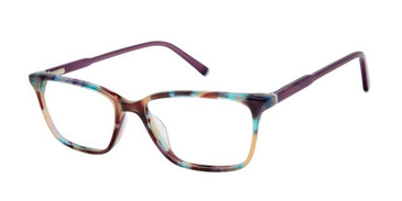 Purple Tortoise Humphrey's 594035 Eyeglasses.