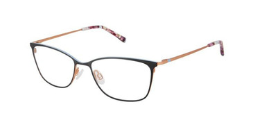 Black/Rose Gold Humphrey's 592048 Eyeglasses.