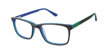 Black Zuma Rock ZR008 Eyeglasses.