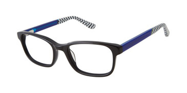 Black Zuma Rock ZR007 Eyeglasses - Teenager.