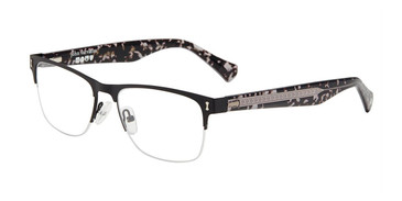 Black John Varvatos V181 Eyeglasses.