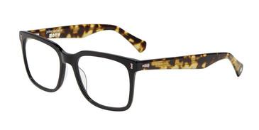 Black John Varvatos V415 Eyeglasses.