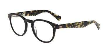 Black John Varvatos V416 Eyeglasses - Teenager.