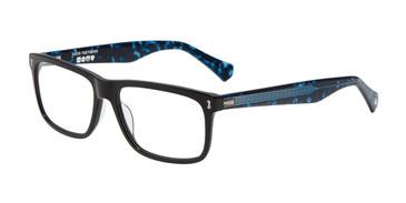 Black John Varvatos V417 Eyeglasses - Teenager.