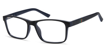 Black Blue Capri 4U UP 308 Eyeglasses