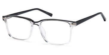 Black Crystal Capri 4U US 105 Eyeglasses