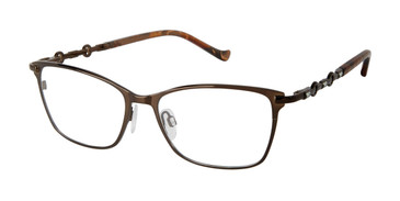 Brown Tura R571 Eyeglasses.