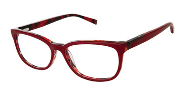 Red Kate Young For Tura K332 Eyeglasses.