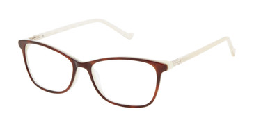 Tortoise/Bone Marble Tura R226 Eyeglasses.